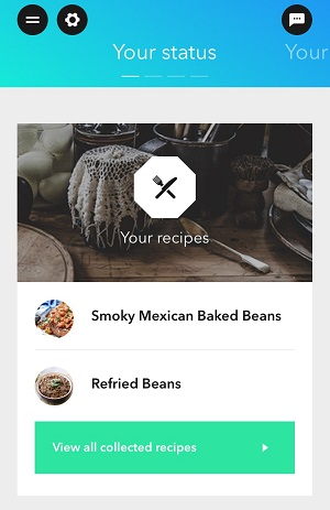My recommended recipes.