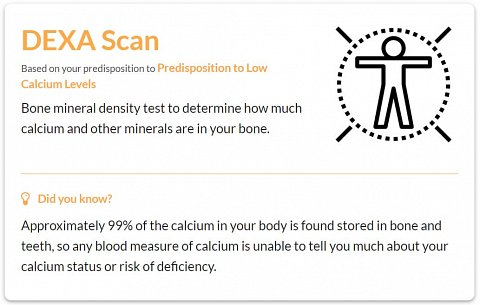 One of my Further Testing tips: a DEXA Scan.