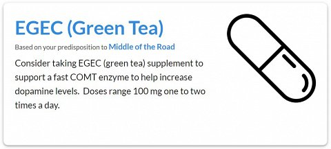 One of my supplement recommendations: EGEC (found in green tea).