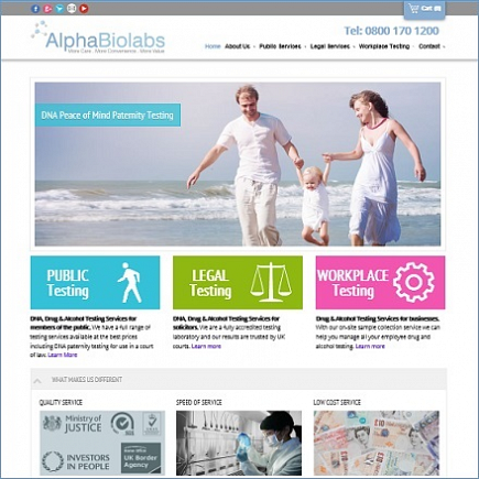 Alpha Biolabs launches new website after receiving 'mystery shopper' review