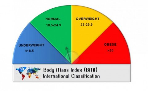 My predicted BMI according to my genetics.