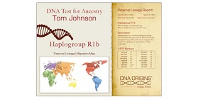 DNA Origins Paternal Lineage